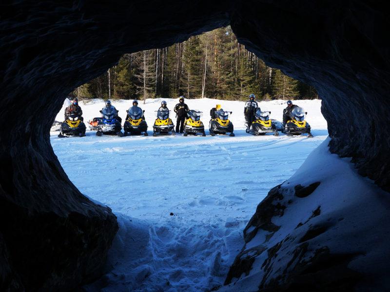 Пещера на р. Лозьве