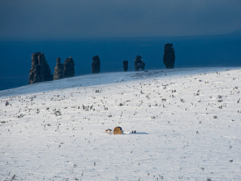 Вид с г. Койп на плато Маньпупунёр