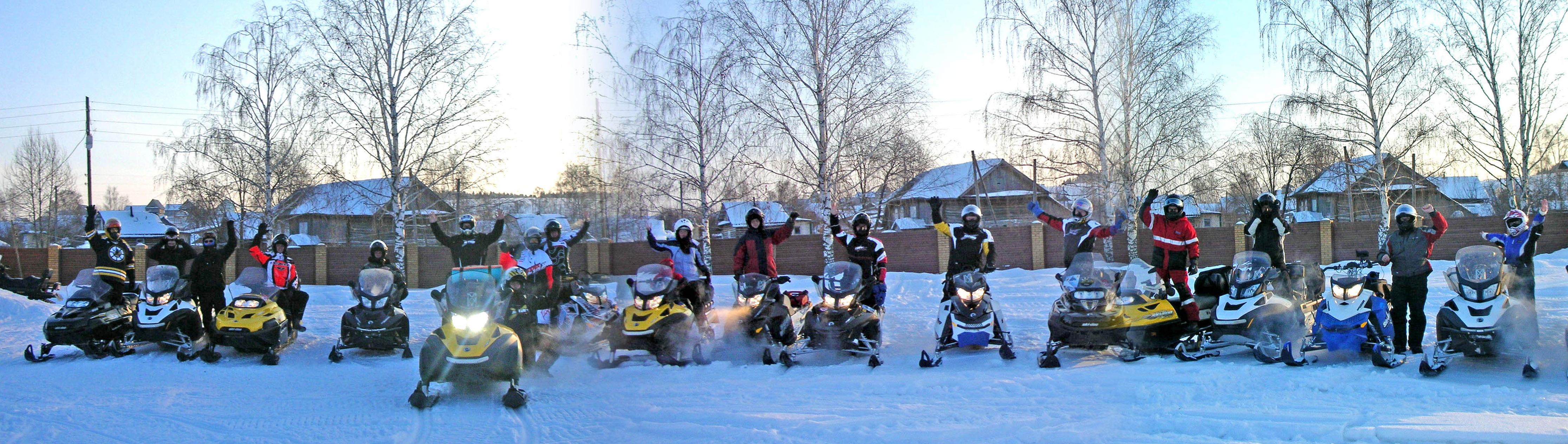 Походы и туры на снегоходах и квадроциклах