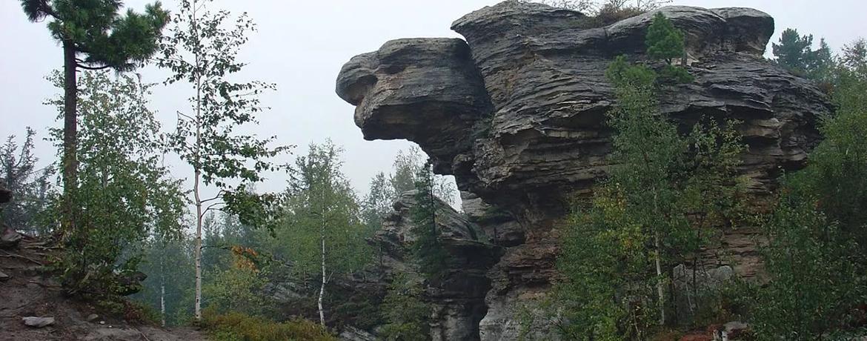 Каменный город Усьва